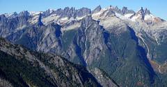 Picket Range (Aubrey Sun) Tags: trappers peak hike scramble mountain north cascades wa washington northwest picket range pickets