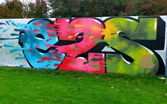 Prinsenpark (oerendhard1) Tags: graffiti streetart urban art rotterdam oerendhard prinsenpark ezs e2s