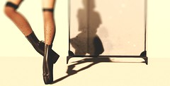 Aguicheuse (Laura a surprise package in the kink department) Tags: fameshed azoury keke anlarposes anlar heels ballet stockings