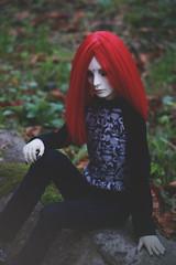 mas08 (here.heidin) Tags: bjd bjdboy doll balljointed redhair redhea plasticmoon teru hzbjd hybrid demon