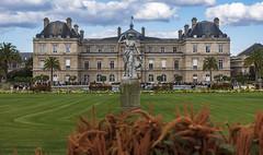 Luxembourg Garden & Palace / Люксембурский сад и дворец (dmilokt) Tags: город city town дворец palace dmilokt nikon d750 paris париж