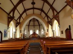 Church - Church of Scotland, Braemar 180711 [interior] (maljoe) Tags: church churches braemar churchofscotland stainedglasswindow stainedglass stainedglasswindows