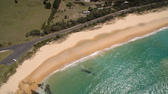 Beach pools (OzzRod (on the wallaby)) Tags: dji phantom3advanced djifc300s20mmf28 drone quadcopter coast aerial oblique sea ocean shoreline beach waves beachpools road cuttagee