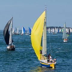 Bretagne - Golfe du Morbihan - (Noir et Blanc 19) Tags: bretagne golfedumorbihan bateaux voiliers régate sony a77
