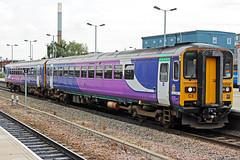 Northern 153358 (Sam Pedley) Tags: 153358 northern class153 northernrail supersprinter arriva arrivarailnorth nottinghamstation 1y16 dieselmultipleunit dmu britishleyland leylandbus vehicle train railway railroad multipleunit
