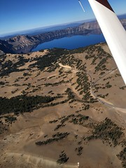 2018. Aerial view of Crater Lake National Park, Oregon. (USDA Forest Service) Tags: usda usfs forestservice stateandprivateforestry foresthealthprotection region6 r6 craterlakenationalpark craterlake aerialsurvey 2018 aerialphoto oblique oregon whitebarkpine aerialdetectionsurvey forestinsect forestdisease ads bensmith lowelevationphotography aerialphotography landscape