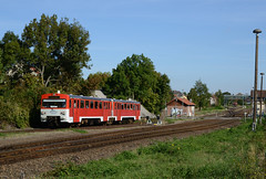 A.V.G. VT35 Staßfurt 2018 (moorbahner71) Tags: eisenbahn deutschland railway germany digi nikon cmk avg ascherslebener verkehrs gesellschaft triebwagen personenzug probespnv stasfurt