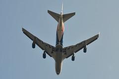 G-CLBA Cargologicair Boeing 747-400F (czerwonyr) Tags: gclba cargologicair boeing 747400f