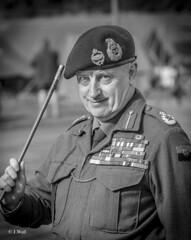 Statfold Barn Railway 2018 pic60 (walljim52) Tags: statfoldbarnrailway 1940s event wartime ww2 military uniform reenactment battle mono blackandwhite montgomery montysdouble portrait