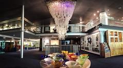 Venini (Wilcasbilcas) Tags: glass stefanbuzas brunozanetti manchesterairport venice murano venini chandelier worldofglass museum sthelens