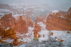 Bryce Canyon National Park Christmas Winter Snowstorm Fine Art Utah Landscape & Nature Photography! Bryce Canon Thor's Hammer Sunset View Winter Wonderland! Sony A7R II & Carl Zeiss Sony Vario-Tessar T* FE 16-35mm f/4 ZA OSS Lens SEL1635Z ! McGucken Art! (45SURF Hero's Odyssey Mythology Landscapes & Godde) Tags: bryce canyon national park christmas winter snowstorm fine art utah landscape nature photography canon thors hammer sunset view wonderland sony a7r ii carl zeiss variotessar t fe 1635mm f4 za oss lens sel1635z elliot mcgucken