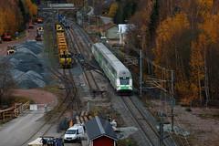 IC 960 passing Pohjankuru, Finland (Tuukka Varjoranta) Tags: ic intercity ic960 vr edo sr2 pohjankuru