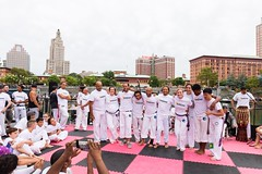 2018-9-8 Grupo Ondas capoeira batizado, graduation at WaterFire (Photograph by Matthew Huang) (6)