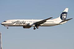 N307AS (GH@BHD) Tags: n307as boeing 737 739 737900 b737 b739 as alaskaairlines airliner aviation aircraft las klas lasvegas lasvegasmccarranairport