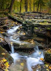 Indian Falls (59roadking - Jim Johnston) Tags: ifttt 500px waterfall creek autumn fall leaves water long exposure cascade