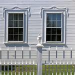 Tilting windows, the Ruggles House (1818-20), Columbia Falls, Maine, USA thumbnail