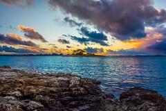 Le Golfe du Morbihan (aurlien.leroch) Tags: france bretagne morbihan sunset mer sea nikon paysage landscape color