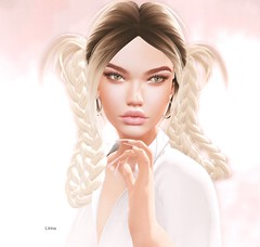☼ FABIA & AKERUKA ☼ (l.Irina) Tags: akeruka fabia bento head hair blush fashion style sl