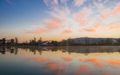 lake Zajarki (011) - sunrise (Vlado Ferenčić) Tags: sunrise autumn autumncolours lakes vladoferencic lakezajarki vladimirferencic zaprešić hrvatska croatia morning nikond600 nikkor2485284