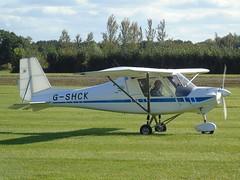 G-SHCK Ikarus C.42 FB80 (c/n 1510-7426) Shobdon (andrewt242) Tags: gshck ikarus c42 fb80 cn 15107426 shobdon