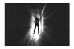 Tr abduction (Wood Oliver) Tags: digital canon eos5dii 50mm18 stm bw black light photoshop dark manip