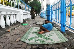 (Benaami) Tags: nikon nikkor naturallight natural light nikond200 d200 streetphotography street photography kolkata nikkor1735f28 nikon1735f28 sidewalk man sleeping