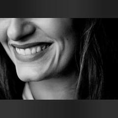 Sono solo parole (Goodintention) Tags: ritratti sorriso ofme girls happiness happy smile noiretblanc bw bn selfportrait me