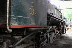 I_B_IMG_0551 (florian_grupp) Tags: asia myanmar burma train railway railroad myanmarailways southeast metergauge metregauge 1000mm diesel locomotive pyuntaza scrap yard yb yd yc