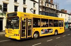 Go North East: 557 / NK53 TKV (Northern Transport Photos) Tags: nk53tkv mpd transbusmpd transbusminipointer transbus transbusinternational ad122 hexhambusstation hexham