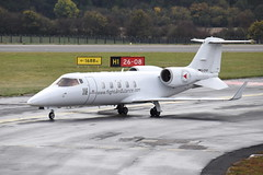 D-CFAF Learjet 60 (eigjb) Tags: luton airport london ltn eggw 2018 business jet bizjet executive aircraft airplane aeroplane plane spotting aviation transport learjet lj60 air ambulance bombardier gates learjet60