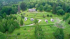 Oak Hill (EJS Drone) Tags: ejsdrone bradford mckean pennsylvania cemetery oak hill