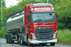 Volvo FH Tanker Shirley's Transport ST67 BVT (SR Photos Torksey) Tags: transport truck haulage hgv lorry lgv logistics road commercial vehicle traffic freight volvo fh tanker shirleys