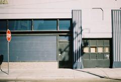 closed blues (jayplorin) Tags: san jose california canon ae1 film abandoned buildings city urban kodak gold 200 35mm