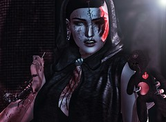 ♚ 626 ♚ (Luxury Dolls) Tags: catwa bento shot shape maitreya tattoo blood marks injured obscure dark halloween salem event izzies nc labaguette tlc scorpion post blog blogger woman girl feed flickr black