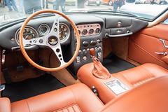 Lamborghini 350 GT Interior (mjhbower) Tags: carsandcoffee malibu carsandcoffeemalibu carscoffee