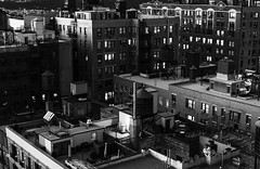 Rooftop Dusk _ bw (Joe Josephs: 3,166,284 views - thank you) Tags: joejosephs nyc newyorkcity skyline travel travelphotography urbanscene citiscape city citybuilding cityphotography citystreets cityscape newyorkcityphotography rooftop urbanarchitecture urbanexploration roof bw blackandwhitephotography monochrome nightphotography dusk