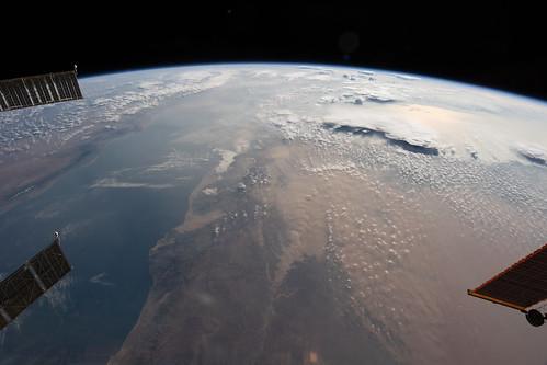Red Sea Between Deserts