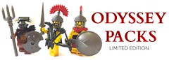 Limited Edition Odyssey Packs (BrickWarriors - Ryan) Tags: brickwarriors lego customlegominifigure assassin odyssey
