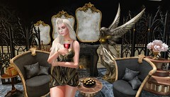 ¿ARE YOU HAPPY NOW? (Mind Crusher) Tags: second life edith alderbury succubus morningstar figure8 refuge plastik thefairytale mirror steampunk coffee table marble apocryph dividers vintage blueberry rama salon lelutka glam affair