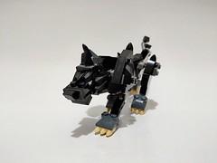 Lego 76084 Modified Dog (c_s417) Tags: marvel lego bricks thor loki comics moc mod avengers