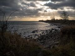 Clouds over Staberhuk (Ralph Runknagel (sehnerv19)) Tags: fehmarn sea meer outdoor landscape seascape lowkey vivezaolympus omd nik