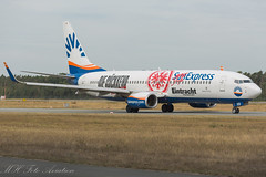 D-ASXB Boeing 737-8Z9(WL) (max_mhfoto) Tags: boeing 737 sunexpress frankfurt nürnberg special cs aviation planes planespotting