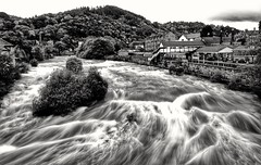 High Water @ Llangollen, Wales (busmender1964) Tags: