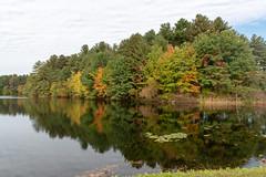 ashleyreservoir2018-164 (gtxjimmy) Tags: ashleyreservoir nikond7500 nikon d7500 newengland holyoke massachusetts autumn fall watersupply reflections reflection hdr