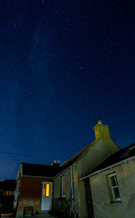 Starry Starry Night (Les Armishaw) Tags: milkyway stars sutherland scotland longexposure