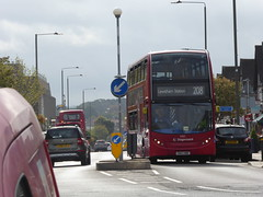"""10185 SN63 NBE on route 208, 19th September 2018. (Tom """"ROUNDABOUT Bus Preservation"""") Tags: bus sn63nbe"""