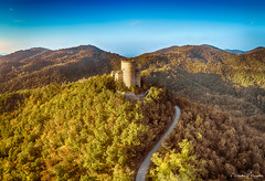 HDR (nicolamariamietta) Tags: oramala italy varzi hills mountain hdr sky landscape trees woods castle medieval road aerial drone dji phantom4pro autumn colors lombardia italia it