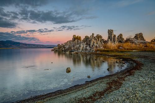 Mono Lake Fall Sunrise