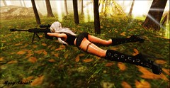 No tears left to cry...!!! (MysyTheia) Tags: hunt force power soft silent kill fight die sexy deadly sweet