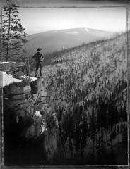 I Keep Staying In The Woods (Bastiank80) Tags: adalbertstifterdenkmal woods roidweek polaroid55 bastiank